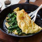 reheat omelette